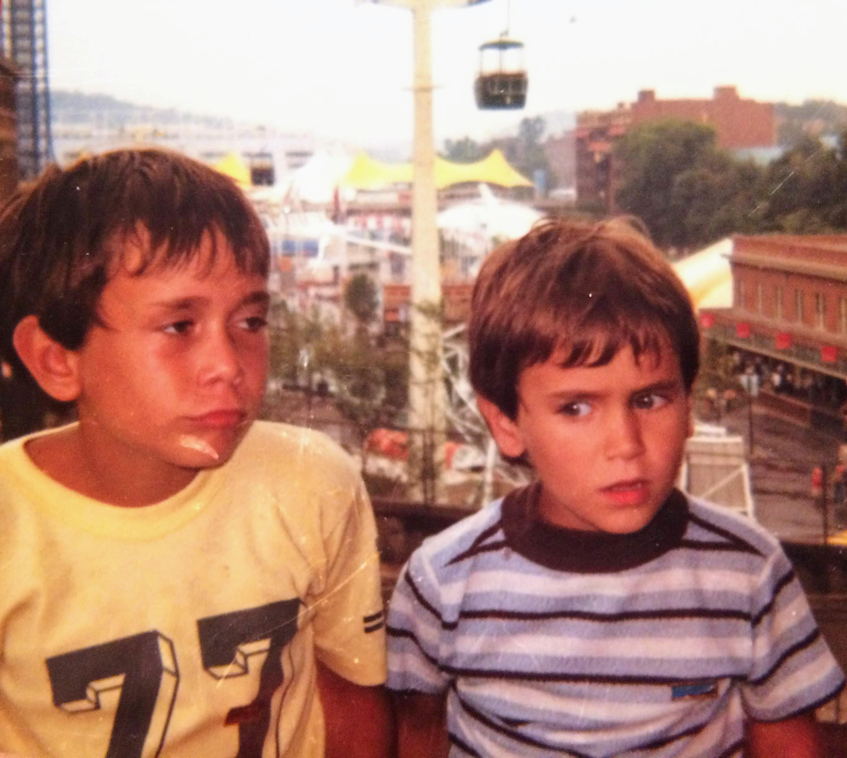Bro & I..