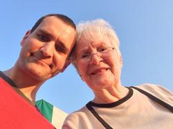 Mom & I..@ Merle concerto