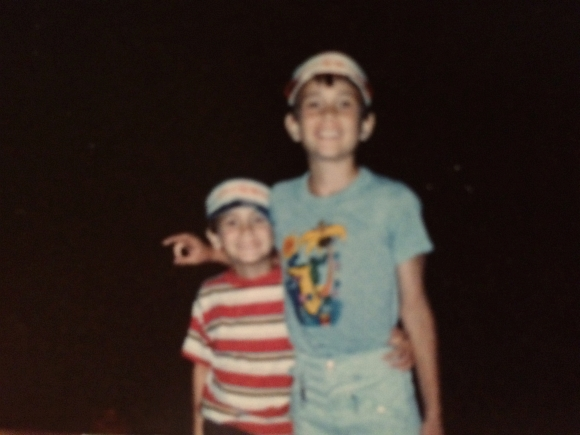 Bro & I ..