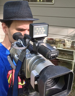 Filming Spring Video..