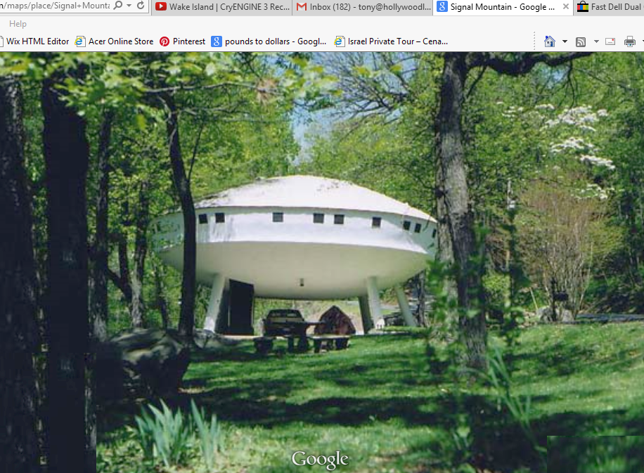 Signal Mtn UFO Hume!