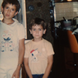 BRO and I in Illinois; Summer '84