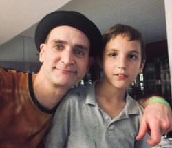 my cousin, Joey & me