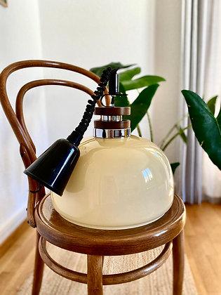 Beige pendant lamp