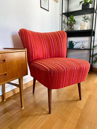Red cocktail chair