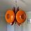 Thumbnail: Orange retro chandelier