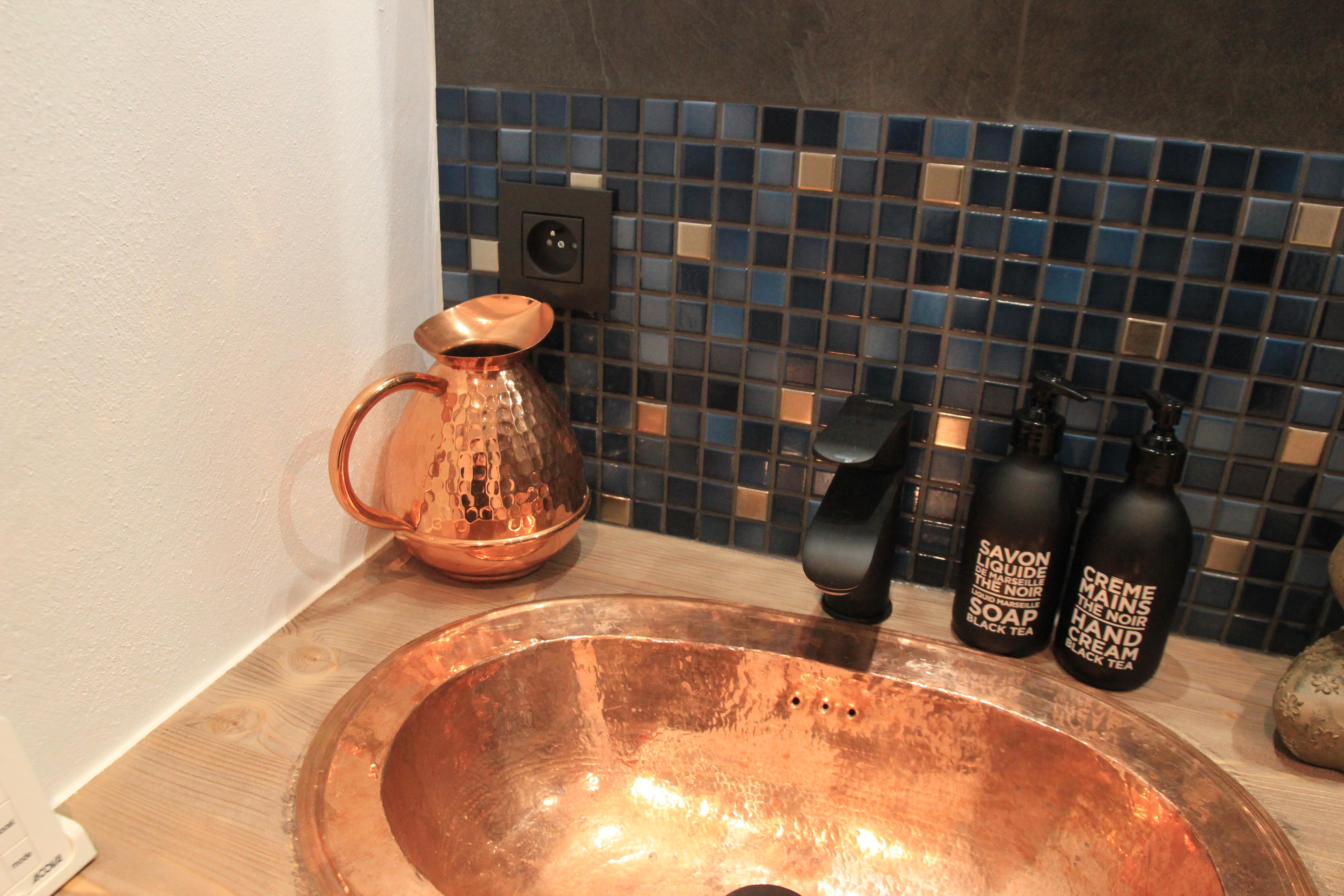 """La salle de bain """"Mont-Blanc"""""""