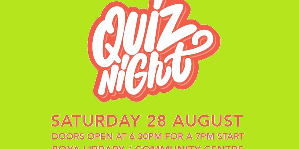 Pavilion Project Quiz Night 2021
