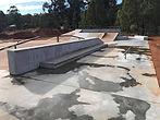Skate Park Half Pipe Construction