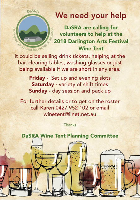 Wine Tent Volunteers