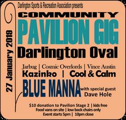 DaSRA Pavilion Gig Poster