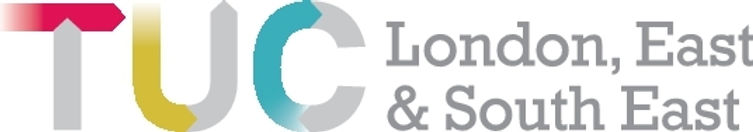 TUC London East and South East logo colo