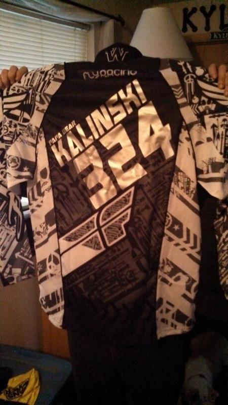 HT Motocross Jersey 324