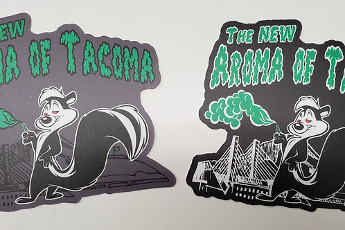 THE NEW AROMA OF TACOMA - Stickers