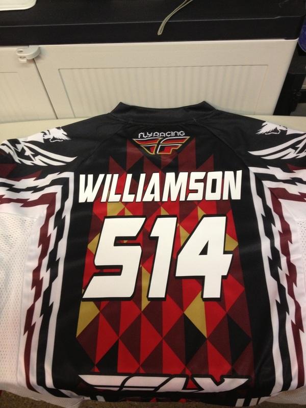 HT Motocross Jersey 514