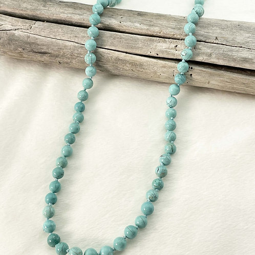 Turquoise necklace FOLLY