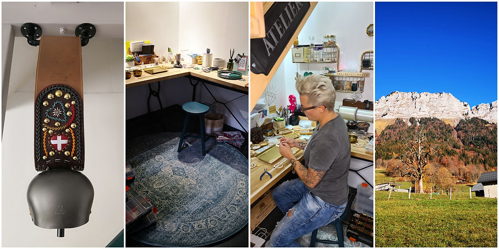 atelier TrendLittleShop, création de bijoux