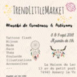marché Créateurs bijoux mode Artisans Annecy