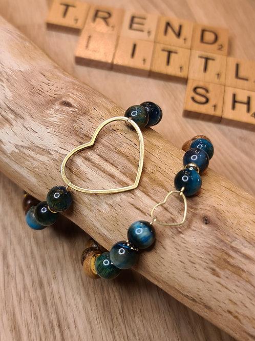 BLUE H bracelet