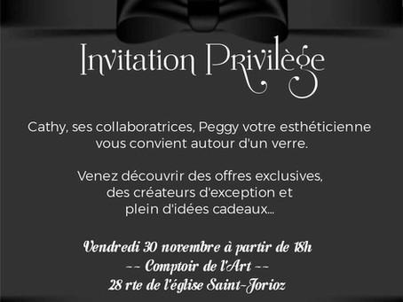 Soirée de Noël // Comptoir de l'Art // Saint-Jorioz // vend. 30 Nov. 18h
