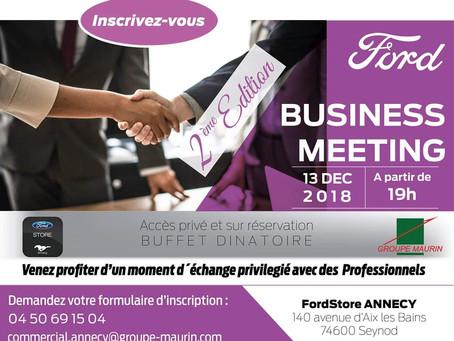Soirée Business Meeting de Noël // FordStore // Annecy jeudi  13 déc. 19h