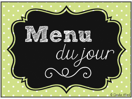 Retrouvez bientôt un menu proposé chaque jour et livré sur votre lieu de travail...