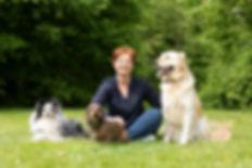 Anja Weigel mit Hunde-Kunden