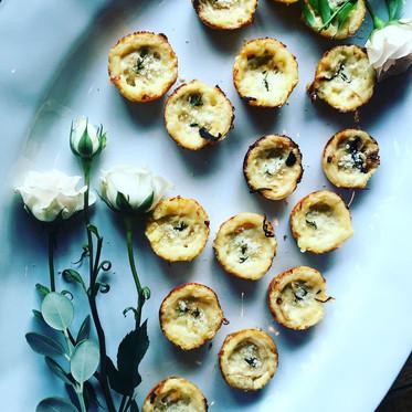 Onion & Gruyere Tartlettes