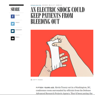 An Electric Shock Could Keep Patients From Bleeding Out