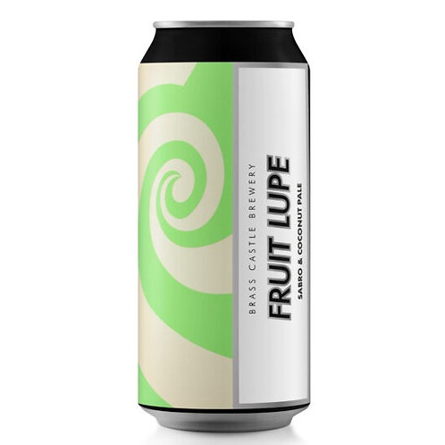 'Fruit Lupe' (GF) - Brass Castle Brewery - GF Pale w/ Coconut - 4.8%