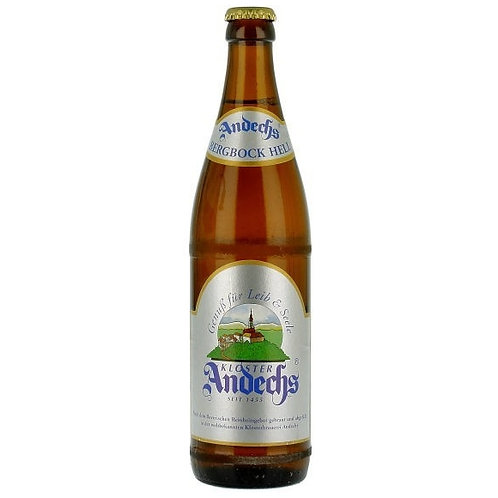 'Bergbock Hell' - Klosterbrauerei Andechs - Strong Lager - 6.9%