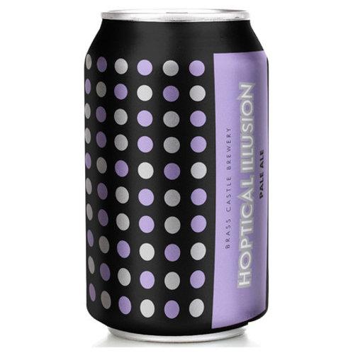 'Hoptical Illusion' (GF) - Brass Castle Brewery - GF Pale Ale - 4.3%