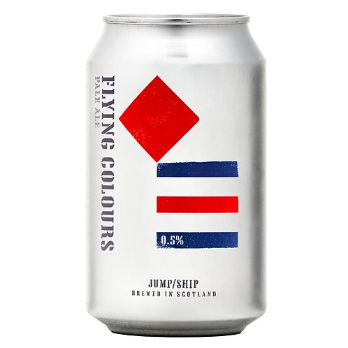 'Flying Colours' (AF & GF) - Jump Ship Brewing - Alcohol Free Pale - 0.5%