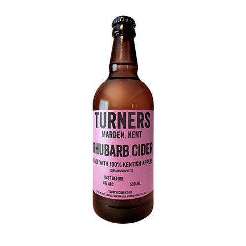 'Rhubarb Cider' - Turners - Fruit Cider - 4%