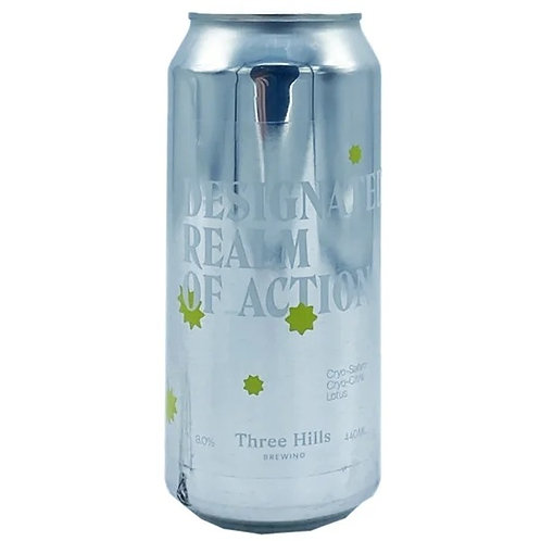 'Designated Realm Of Action' - Three Hills Brewing Co. - DIPA - 8%