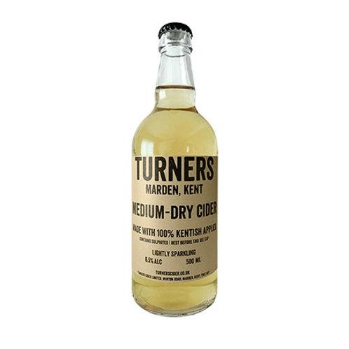'Medium-Dry Cider' - Turners - Apple Cider - 6.5%