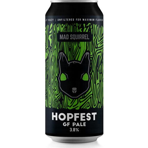 'Hopfest' (GF) - Mad Squirrel Brewery - Gluten Free Pale Ale - 3.8%
