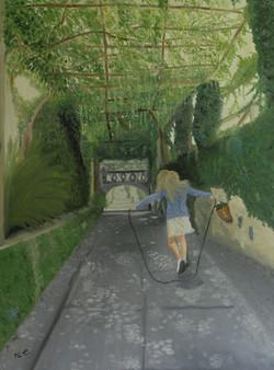 Secret garden, 60x80 cm
