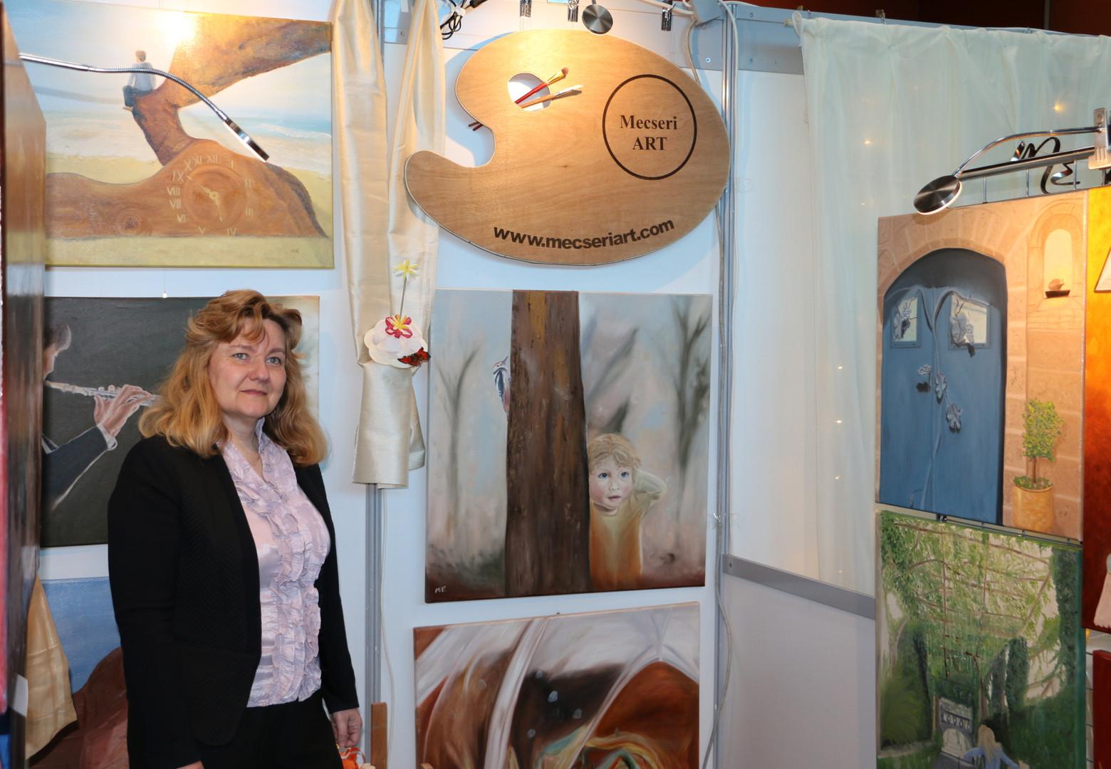 Exhibition in Érd 2019 - Ildikó Mecséri
