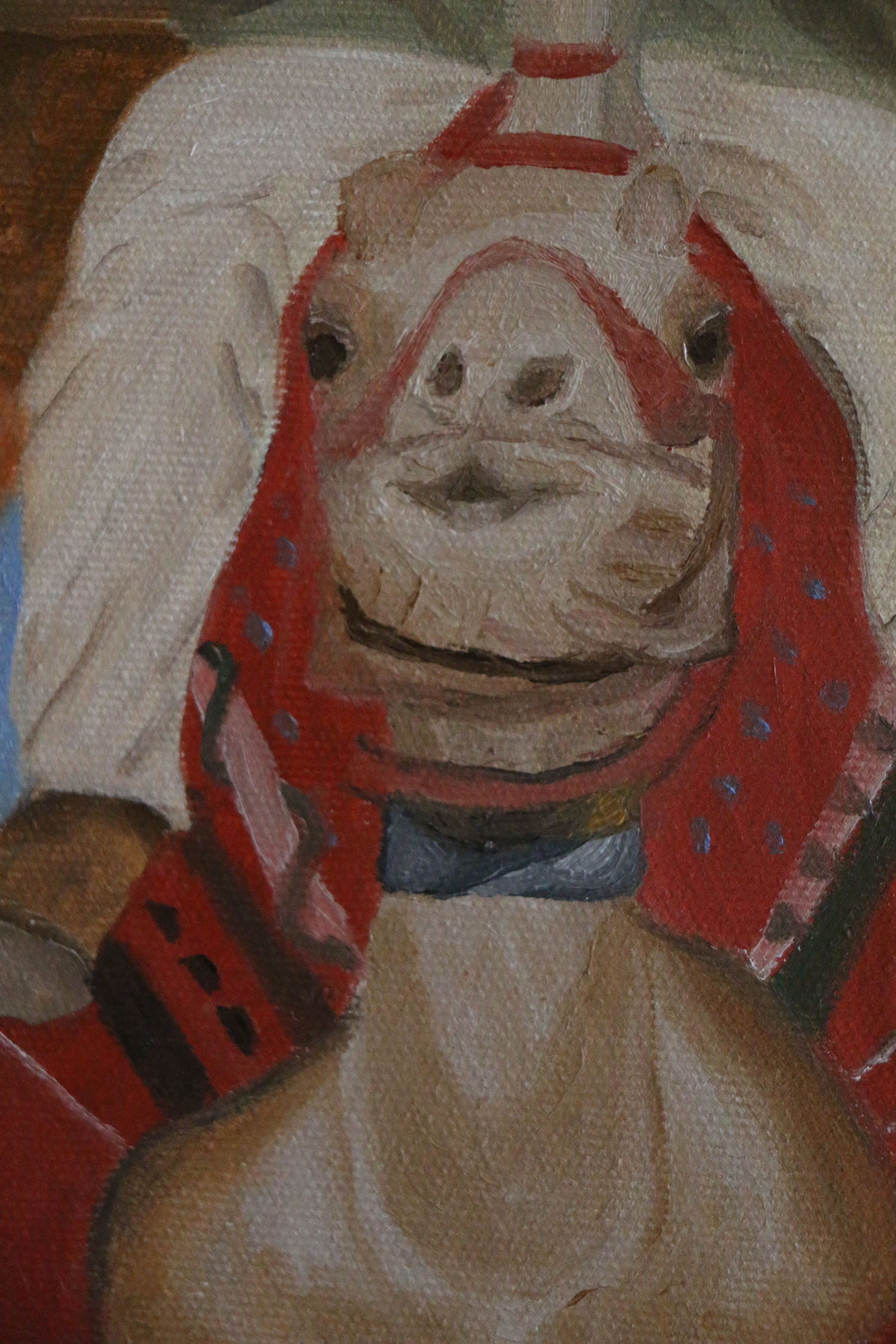 Detail view: camel