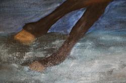 Free gallop, detail view 2.