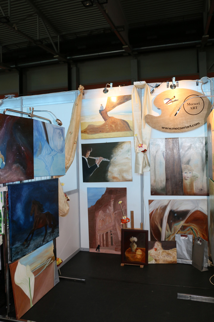 Exhibition in Érd 2019 - booth 2