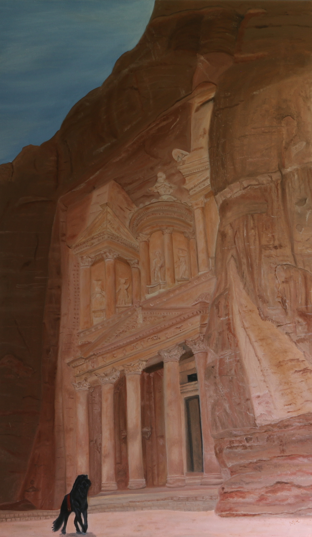 Petra, üzenet a múltból, 60x100 cm