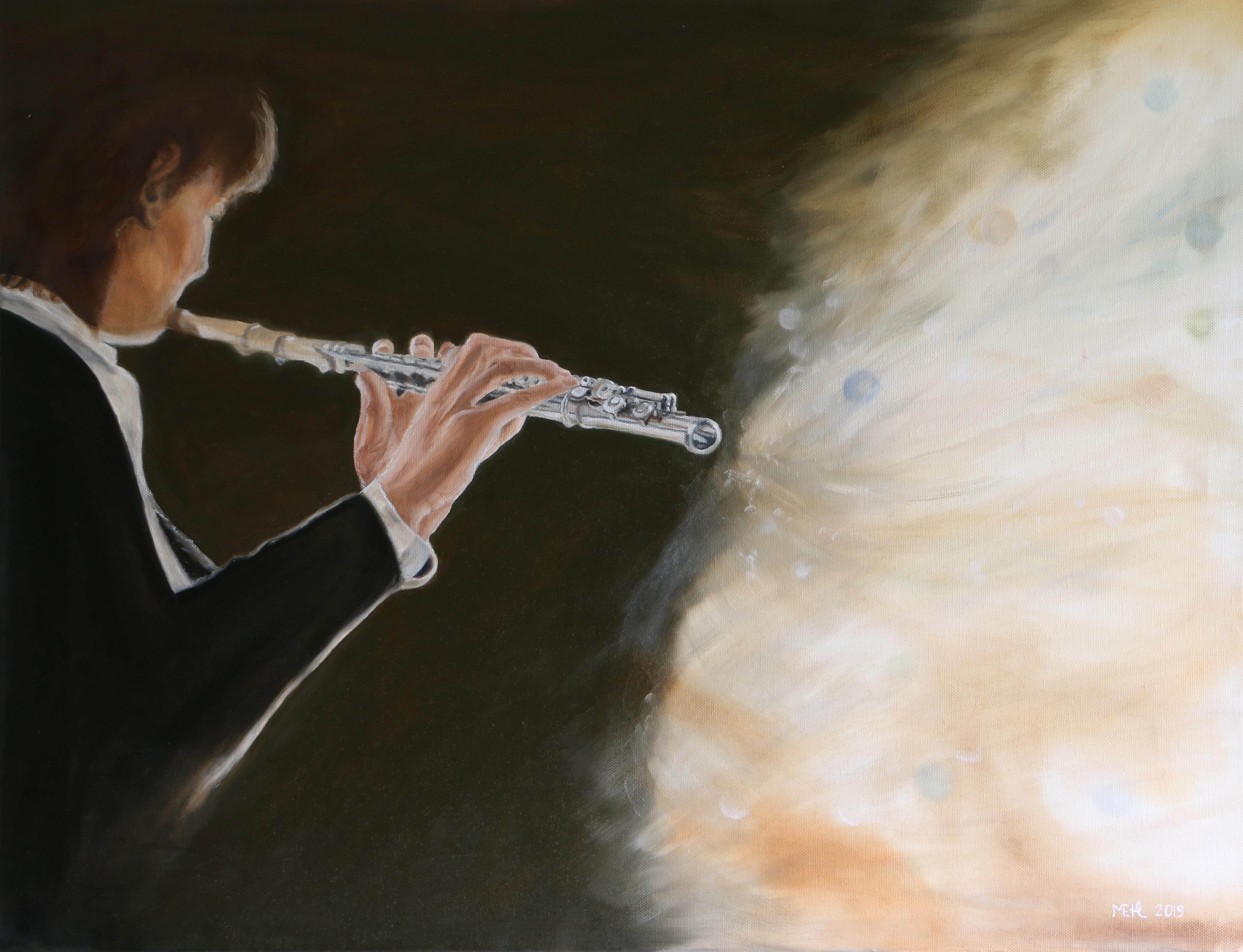 Music, 58x75 cm
