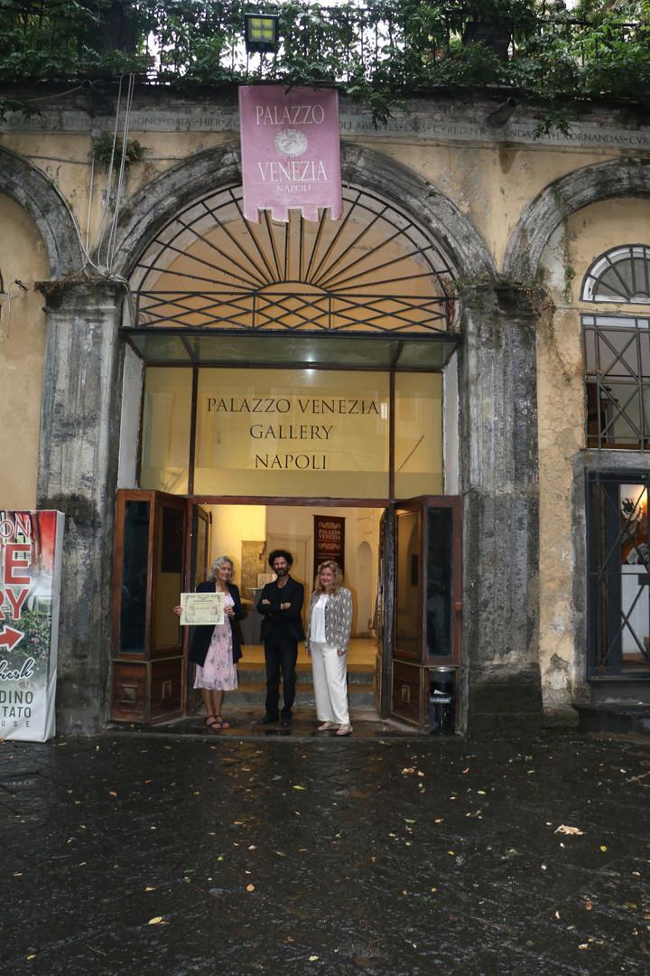 Palazzo Venezia, Naples, Art show