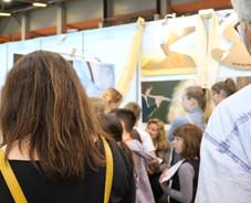 Exhibition in Érd 2019 - visitors