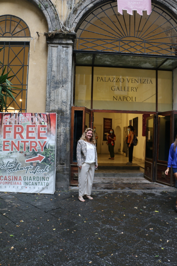 Art Exhibition, Naples 09.2020