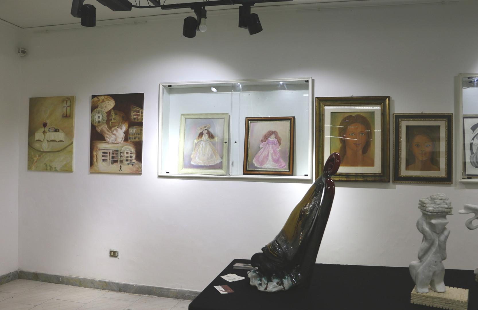 Art Exhibition in Palazzo Venezia, Naples
