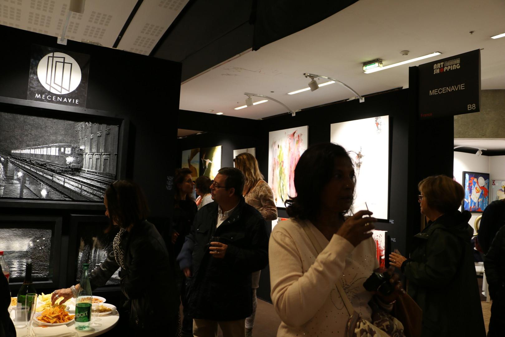 Art Shopping Paris, visitors