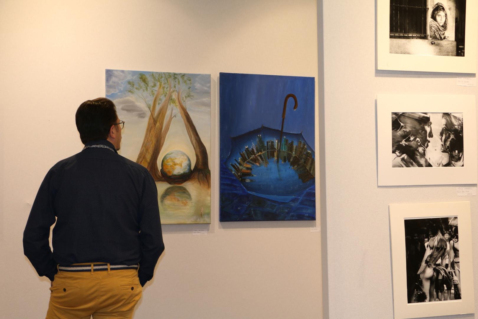 Art3F Brussels, Ildiko Mecseri exhibition